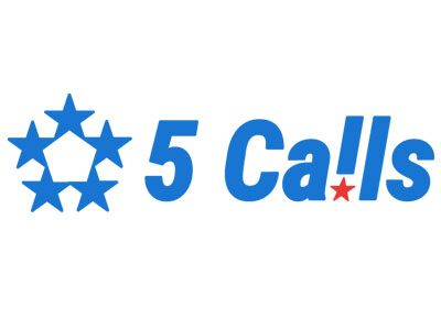 5 Calls - 5 Calls is designed to make it as easy as possible to find your members of Congress and call them. It provides scripts, weekly email alerts, and has been generated over 400,000 calls, according to the website.